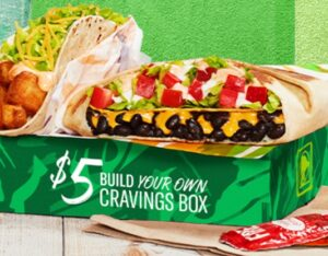 Picture of Build your Own Cravings Box at Taco Bell